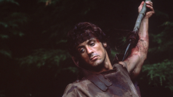 Stallone in First Blood: John Rambo's debut