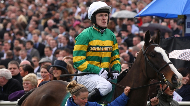 Tony McCoy has two booked rides on Thursday