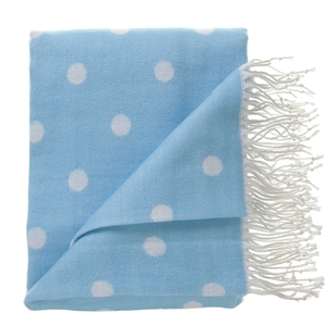 Polka dot throw €12 in store now