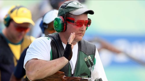 Derek Burnett is Ireland's sole competitor in shooting at London 2012