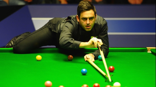 Ronnie O'Sullivan will start his defence of the World Championship against Marcus Campbell