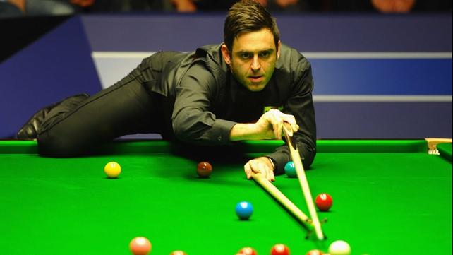 Ronnie O'Sullivan is bidding for a fourth world crown