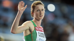 Joanne Cuddihy is going to the London Olympics
