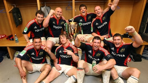 Munster are two-time European champions