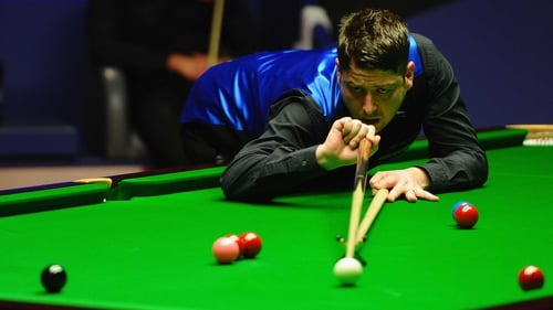 Matthew Stevens held his nerve - and his regular cue - to reach the final in Haikou
