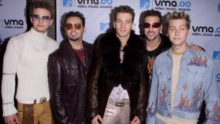 *NSYNC at the MTV VMA 2000