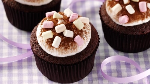 As delicious as they sound! Hot Chocolate Cupcakes