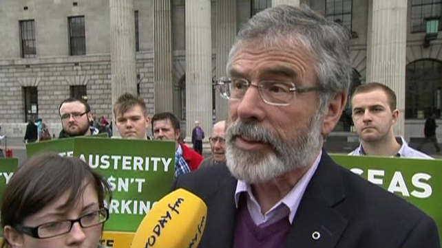 Gerry Adams said the referendum was important to Ireland's future