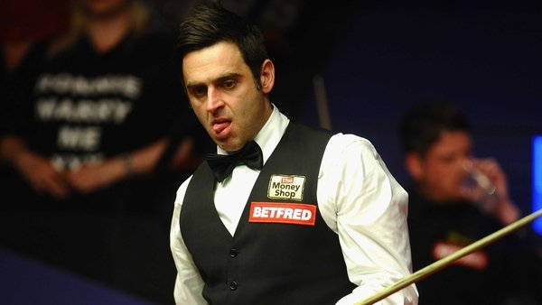 Ronnie O'Sullivan sparkled at the Crucible this afternoon