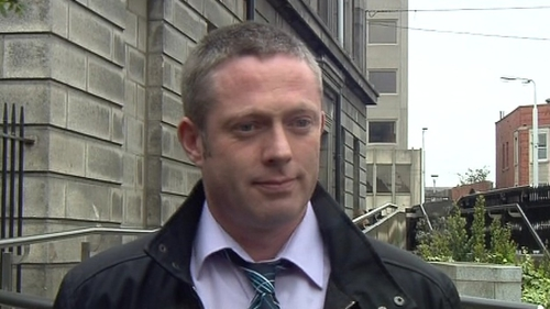 Ronan MacConnoran said he was abused in February 1993