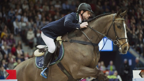 Denis Lynch and Abbervail van het Dingeshof finished fourth in Madrid