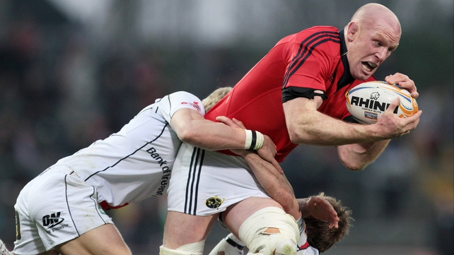O'Connell faces race to be fit for Munster's final Heineken Cup group games and the start of the Six Nations