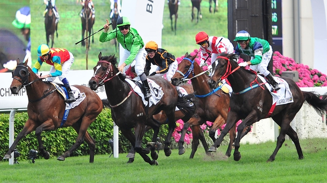 Xtension landed the third Group 1 race of his career at Sha Tin