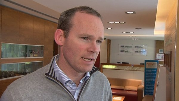 Simon Coveney said alcohol exports support Irish jobs