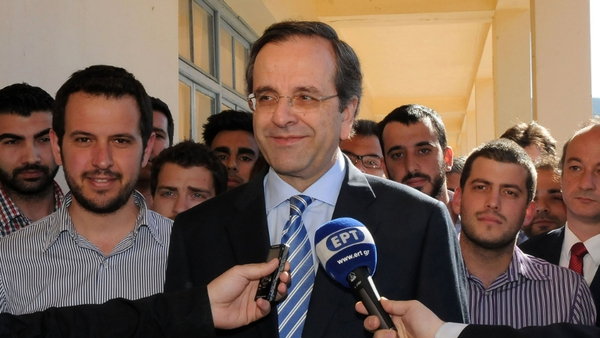 Antonis Samaras was rebuffed by Syriza