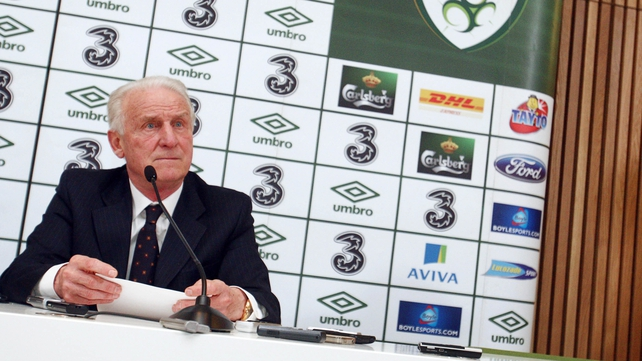 Giovanni Trapattoni said that he must respect James McCarthy's decision