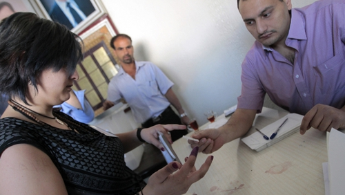 Ban slams Syria for holding a national election despite ongoing violence