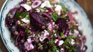 Roasted Beetroot, Feta and Lentil Salad