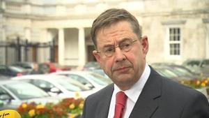 Éamon Ó Cuív was minister for the gaeltacht when the strategy was announced