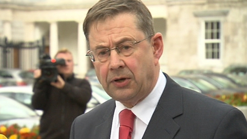Éamon Ó Cuív said he never indicated he would stand for the presidency