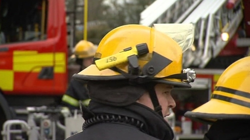 It is understood that the fire was brought under control at around midnight