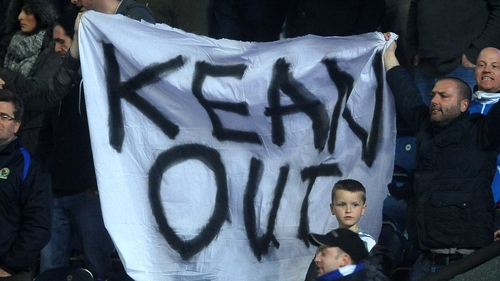 Blackburn fans finally got their wish after a relentless campaign against Steve Kean
