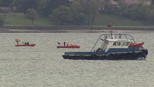Search resumed this morning after ferry incident