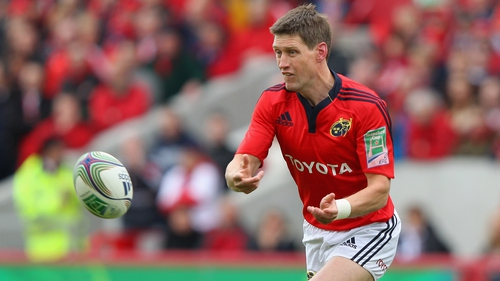 Ronan O'Gara will line of for Munster against Cardiff