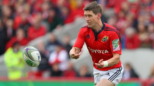 Ronan O'Gara to lead Munster against Cardiff