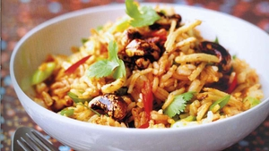 Eunice Power's Chilli and Garlic One Pan Rice Meal