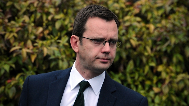 Andy Coulson was arrested in London this morning