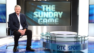 Michael Lyster is looking forward to getting back to work on The Sunday Game