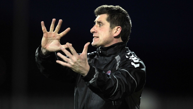 Derry boss Declan Devine: 'I feel that we have the confidence now to finish out the season on a high.'