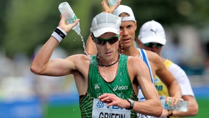 Colin Griffin: 50km walk