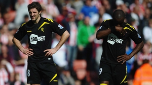Bolton's Nigel Reo-Coker and Sam Ricketts face up to life in the nPower Championship