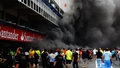 Fire cuts Williams celebrations short