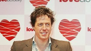 Hugh Grant promoting Love Actually back in 2003
