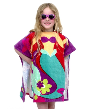 Get this Ariel beach towel with added hood at the back for just €20