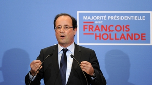 Francois Hollande's Socialist party could hold a majority without support from left-wing allies