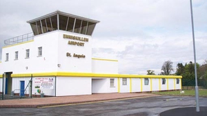 The package was found on a small plane at St Angelo airport in Fermanagh (Pic: www.enniskillen-airport.co.uk)