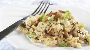 Chicken & Chestnut Mushroom Risotto