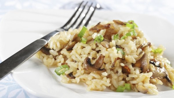 Risotto with Parmesan Cheese