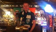 Ed Leahy in the Dubliner Bar