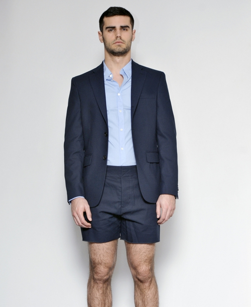 Blazer, shirt and shorts available in Brown Thomas