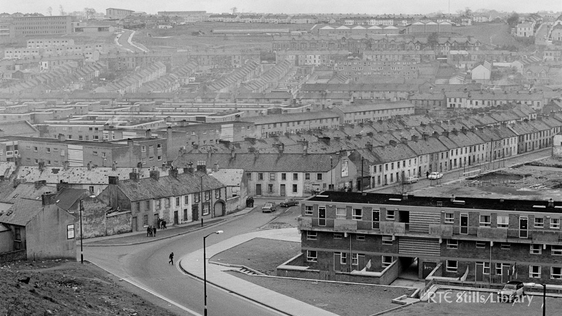 The Bogside, Derry (1969)  © RTÉ Stills Library 2142/025
