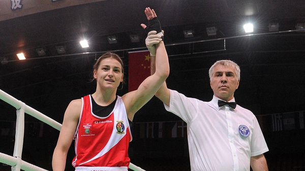 Katie Taylor has qualified for the London 2012 Olympics