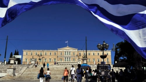 Greek parliament earlier approved a series of unpopular tax rises to increase government income