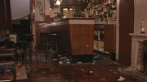 Six men were shot as they watched a World Cup match at the Heights Bar in 1994