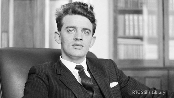 Northern Ireland politician,Austin Currie, recalls the use of civil disobedience to highlight discrimination. © RTÉ Stills Library 2142/093