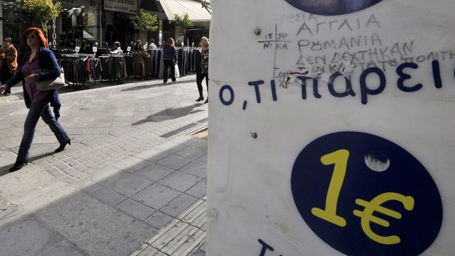 Greek unemployment has climbed to 28%